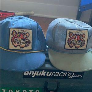 Vintage esso filling station tiger hat lot